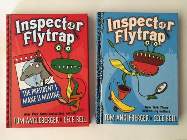 Inspector Flytrap Our New Series Hits The Storeslibraries On