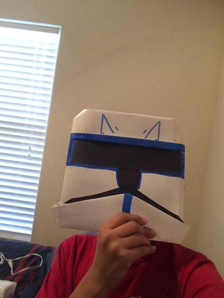 Dipper Pines as Captain Rex