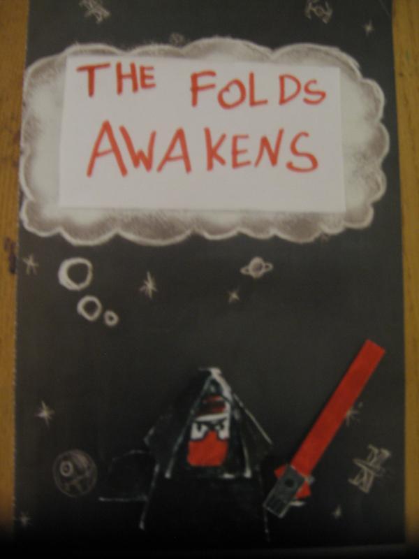 the folds awakens star wars 7 sith origami yoda