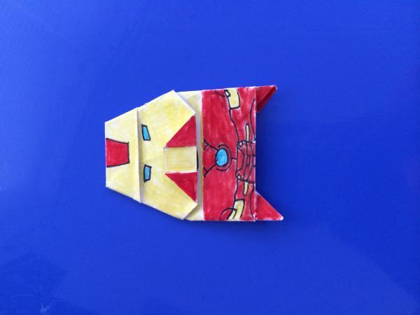origami darth vader instructions