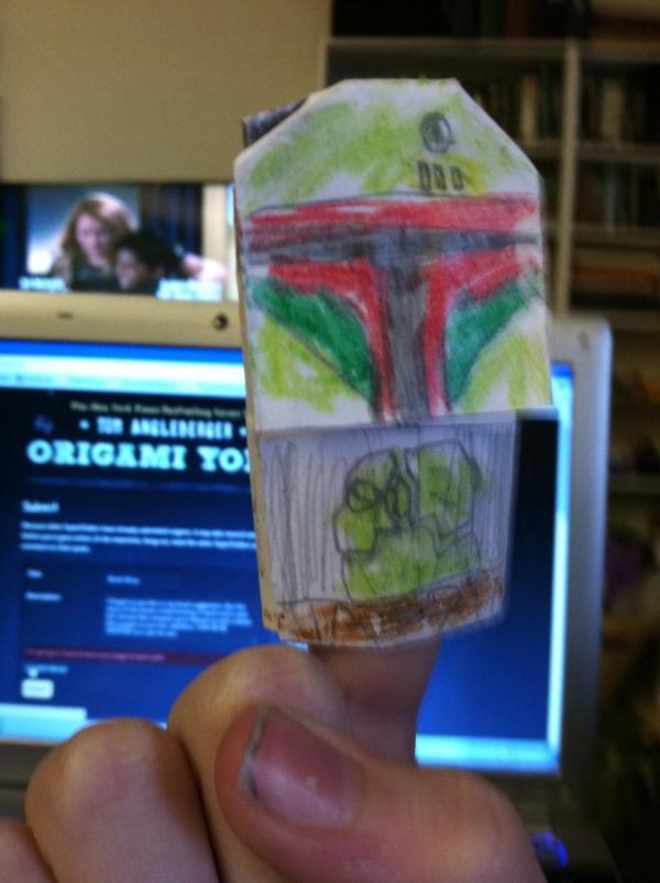 book story origami yoda