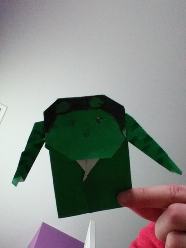 crazy hara video origami yoda