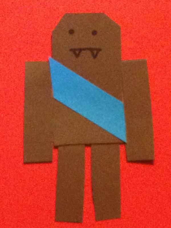 bad chewbacca origami yoda