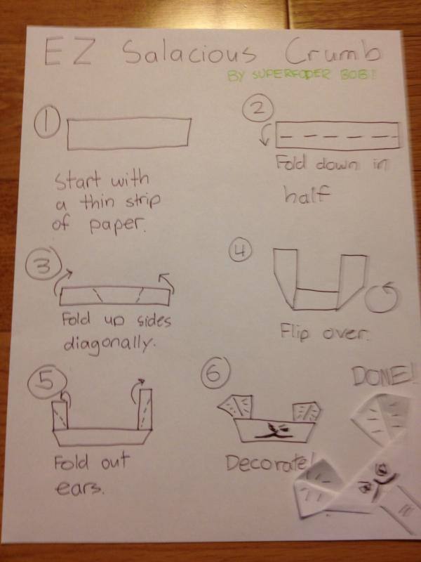 ez salacious crumb instrux origami yoda