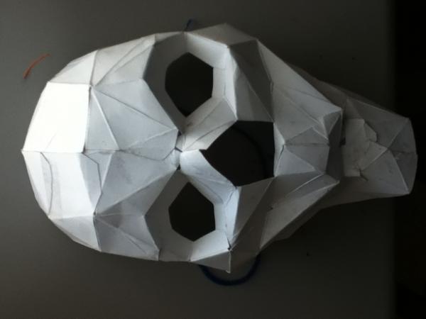 paper skull origami yoda
