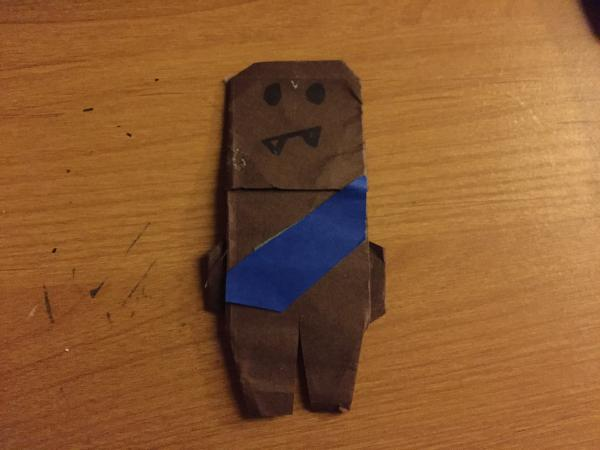 how to fold origami chewbacca 28 images 5 paper