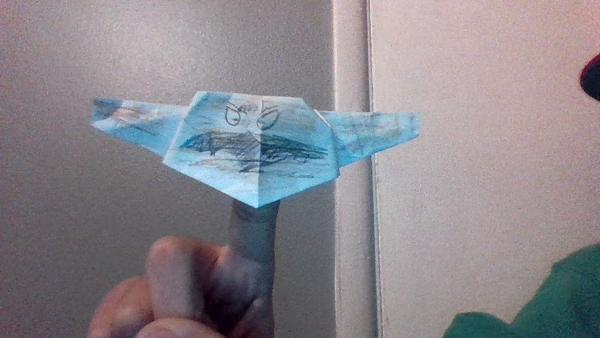 my version of salacious crumb origami yoda