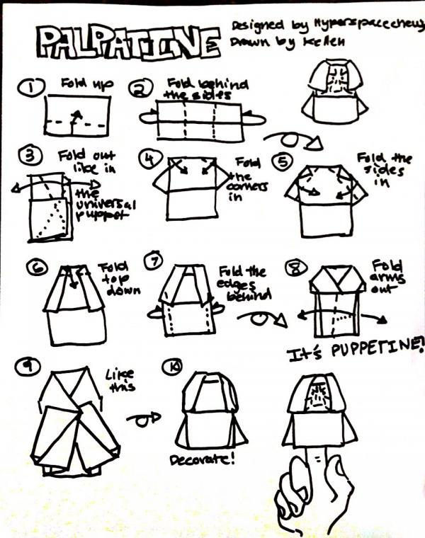 How To Fold Origami Clone Trooper