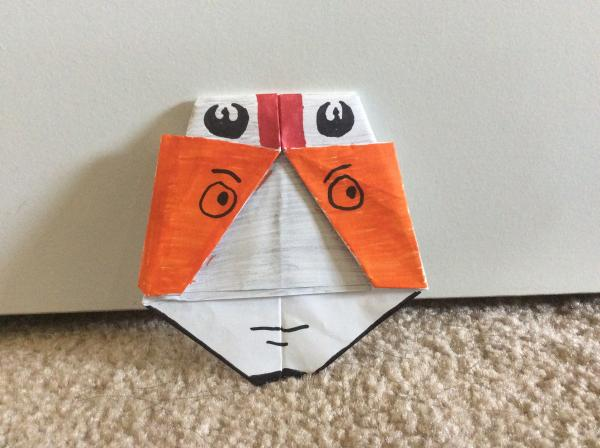 origami x wing instructions