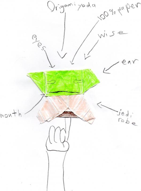 origami yoda origami yoda