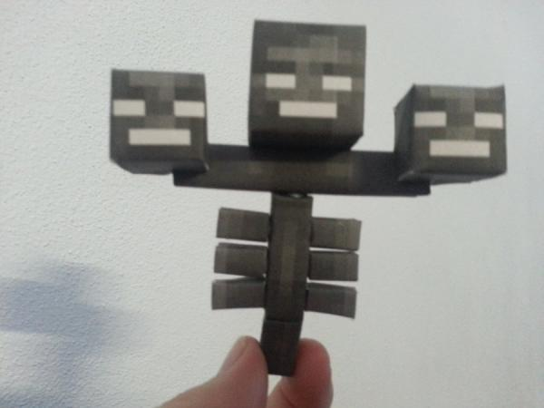 minecraft origami with...