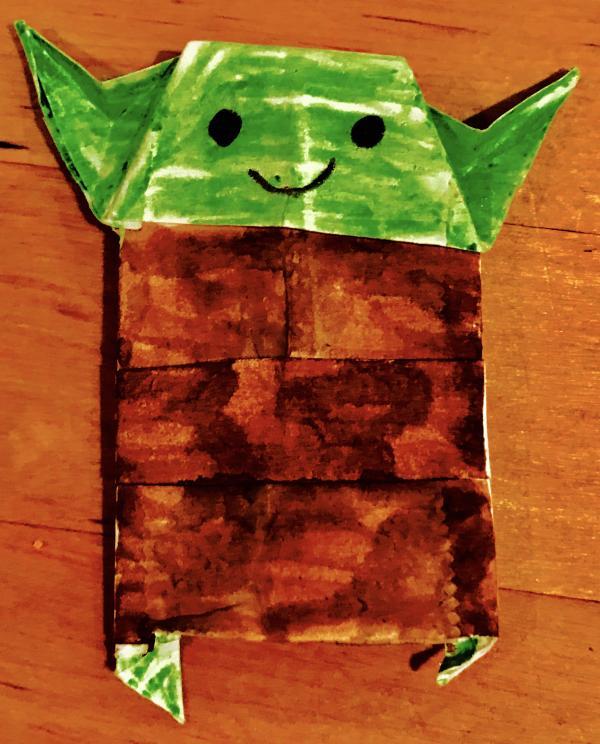 uh book yoda uh origami yoda