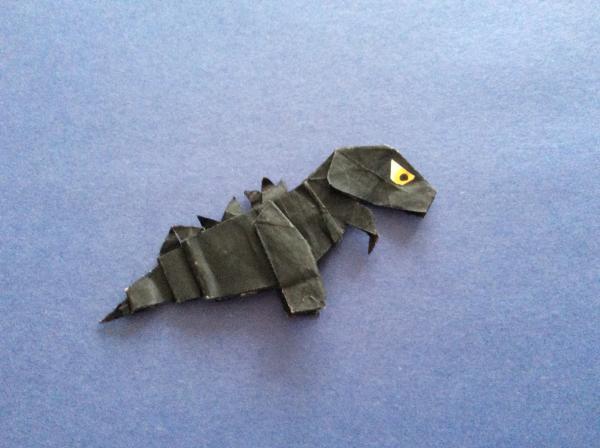 origami godzilla origami yoda