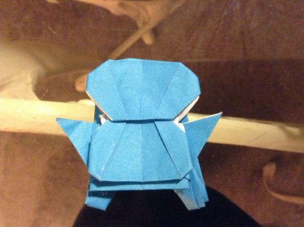 Origami Squirtle 25