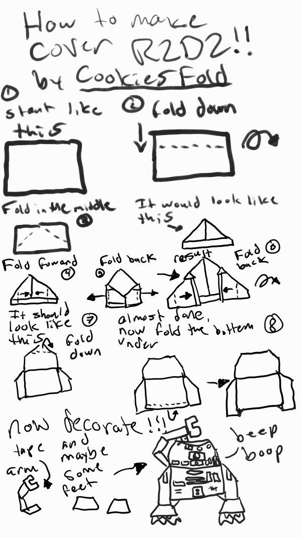 Folding Instructions  OrigamiYoda