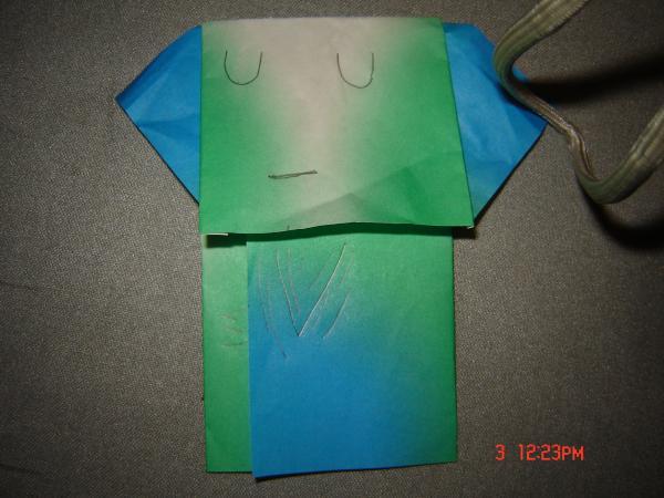 ghost yoda origami yoda