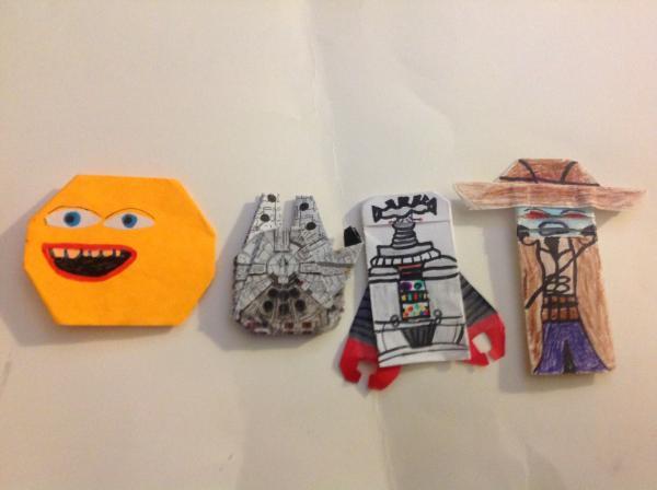 SF CJs Stooky Zowa Origami | Origami Yoda - photo#19