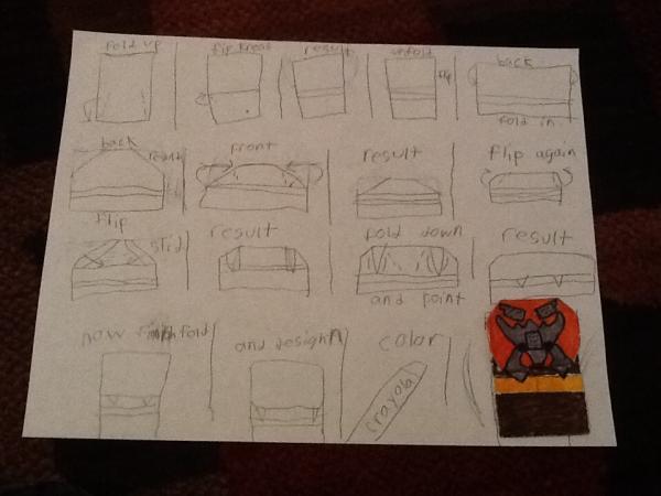 Origami instruction com