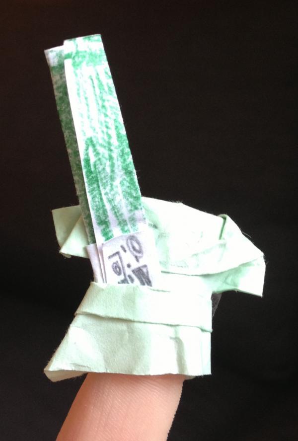 origami yoda extreme origami yoda