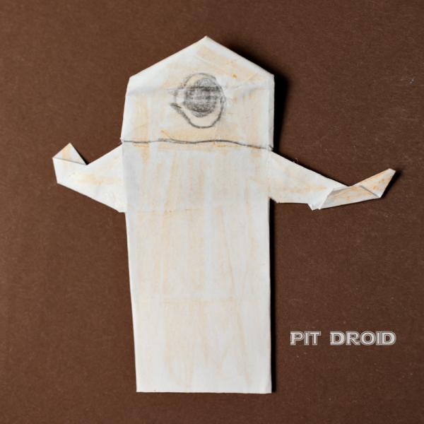 Pit droid origami yoda for Origami droid