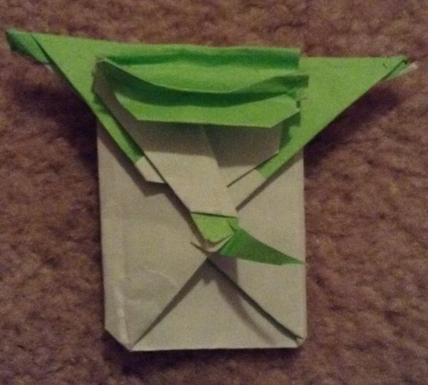cover yoda origami yoda