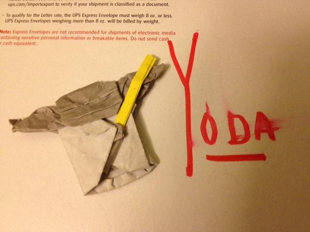 Origami Yoda Comes Home