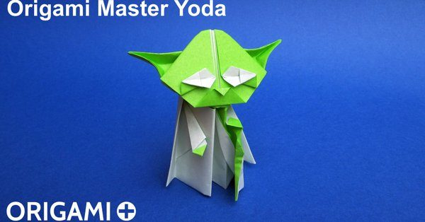 Hey Wow Cool Heres A New Take On An Origami Yoda Origami Yoda
