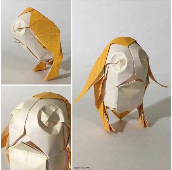 Amazing Origami Porg By Masterfolder Wu Origami Yoda