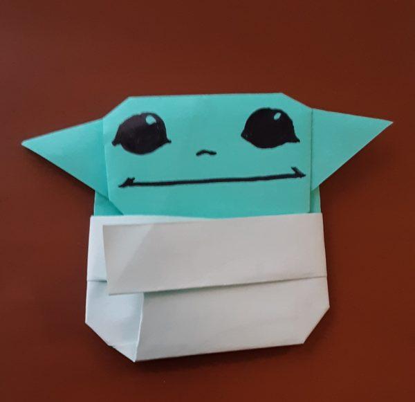 How to Fold | Origami Yoda | 581x600
