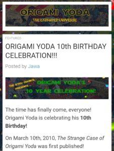 The Strange Case of Origami Yoda by Tom Angleberger - YouTube | 300x227