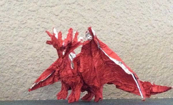 Ancient Dragon Origami Yoda