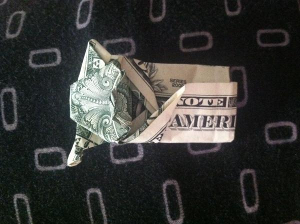 9 Beautiful Dollar Bill Origami DIY Tutorials | 448x600