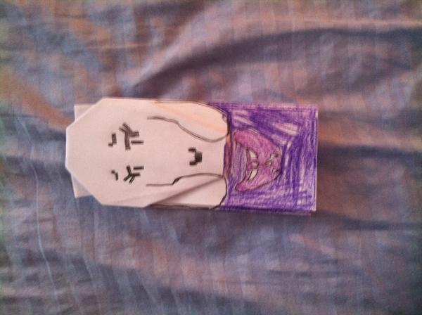asgore toriel and asriel   Origami Yoda