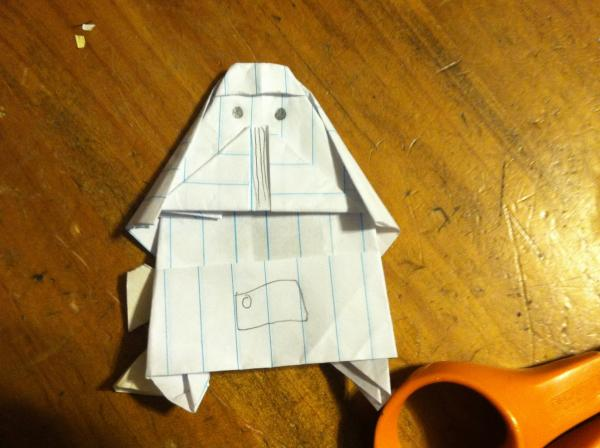 how to make origami yoda and darth paper instructions