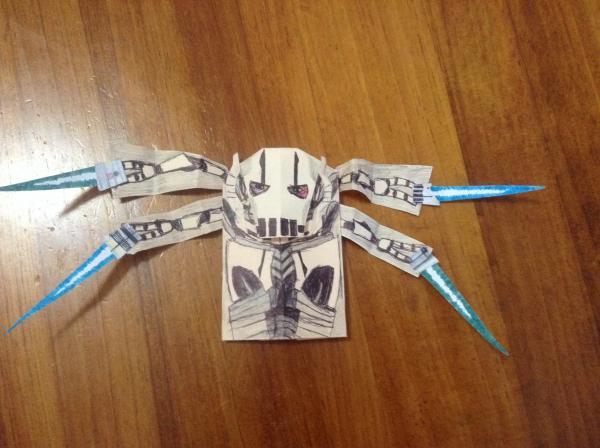 General Grievous Origami Yoda
