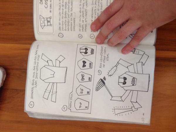 Kirigami General Grievous Instrux Origami Yoda