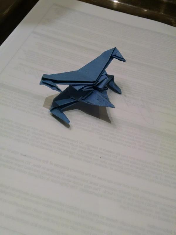 Post It Note X Wing Origami Yoda
