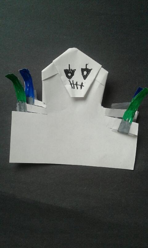 Kirgami General Grievous Origami Yoda