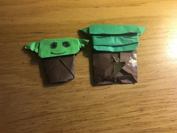 How to Fold | Origami Yoda | 450x600