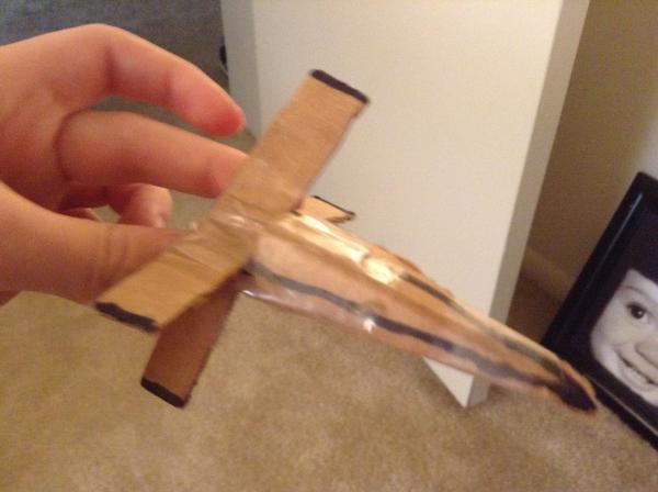 cardboard xwing origami yoda