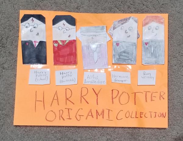 Origami Harry Potter Collection Origami Yoda