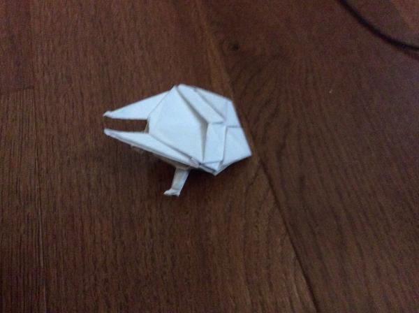 Origami Millenium Falcon Origami Yoda