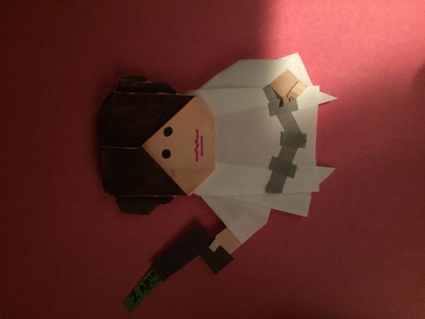 9 DIY Star Wars Orgiami | Star wars origami, Star wars diy ... | 450x600